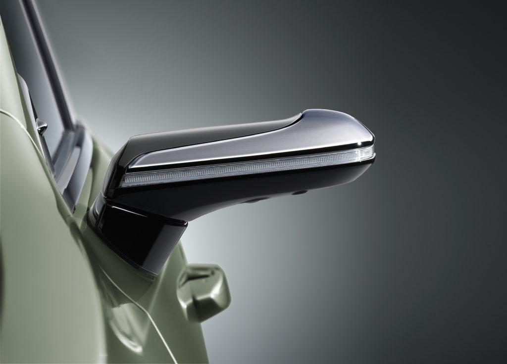 Lexus camera mirrors