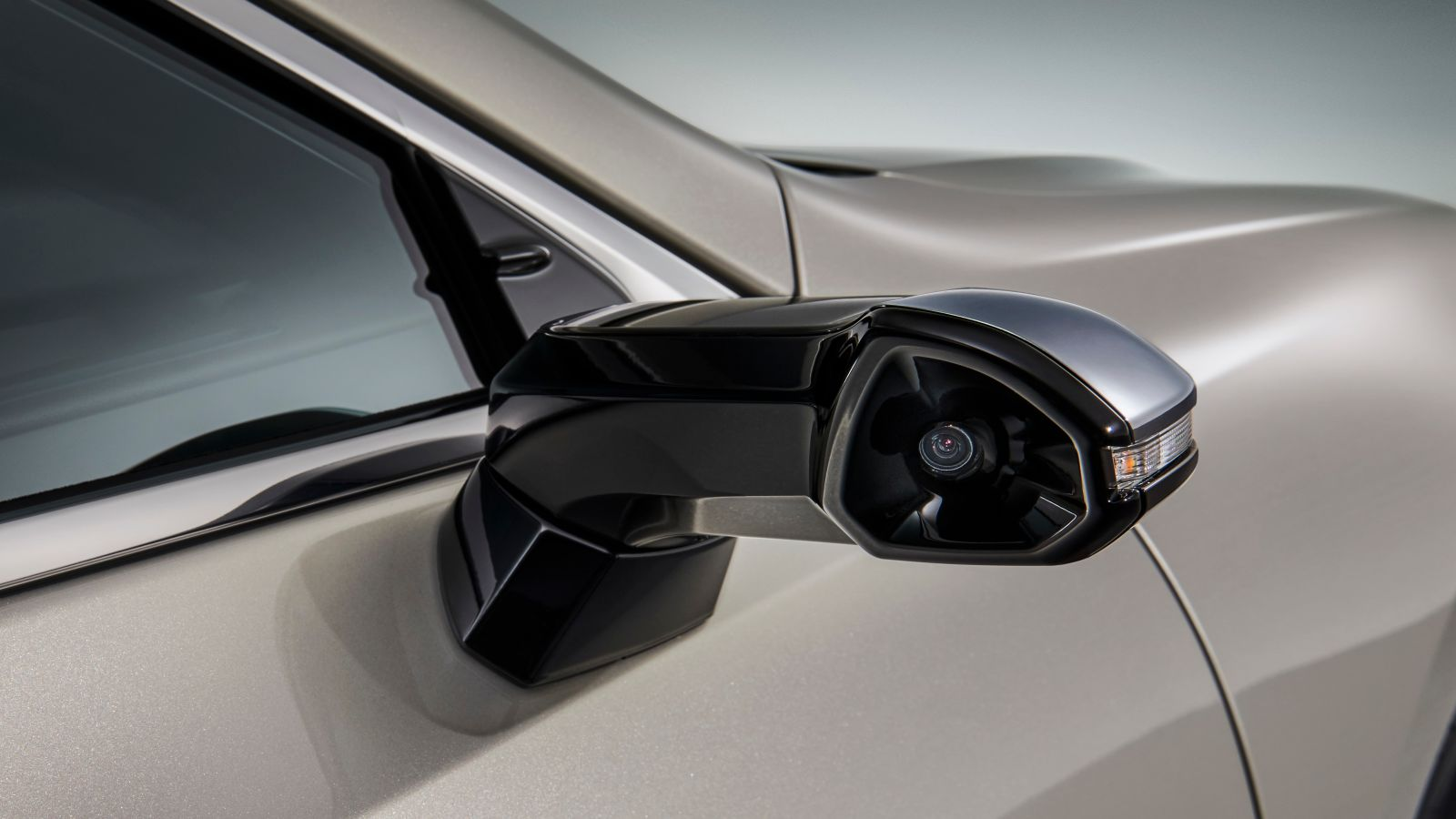 Lexus camera mirrors
